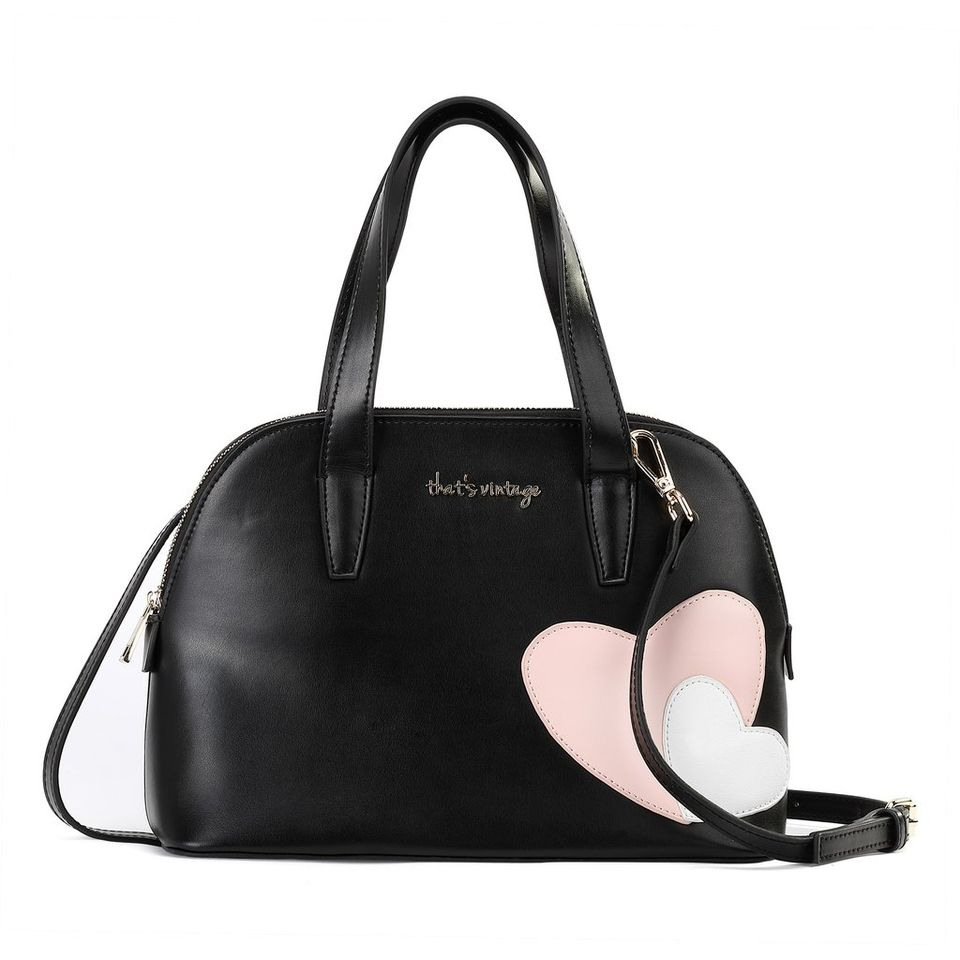 Black, Bowl Me Away: That's Vintage Leather Handbag