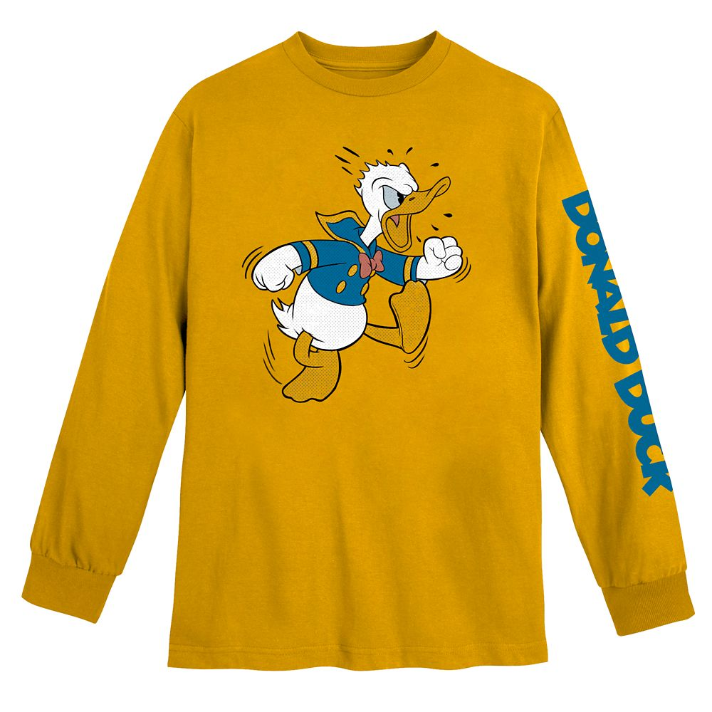 Donald Duck Long Sleeve T-Shirt for Adults