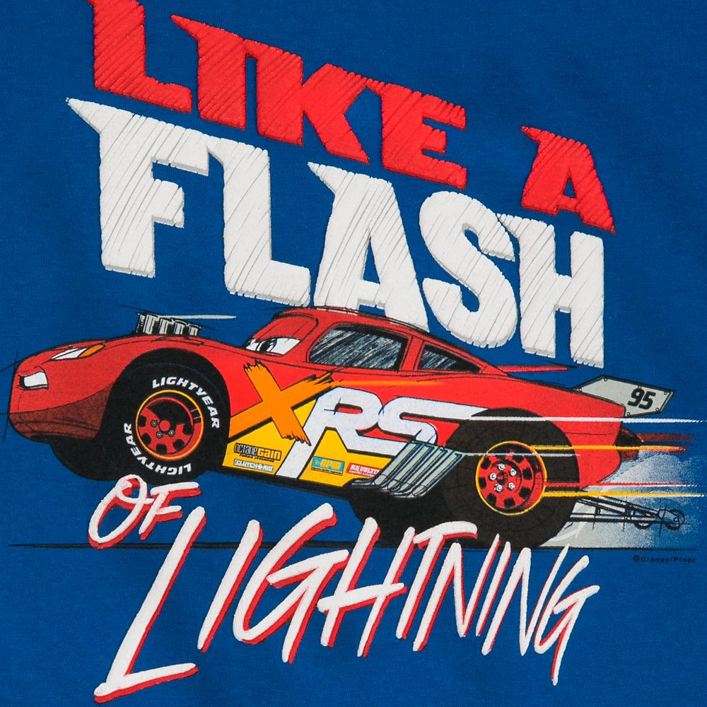 Lightning McQueen Ringer T-Shirt for Boys