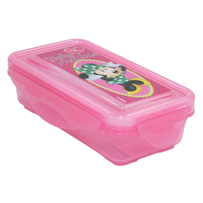 Minnie Mouse Snap Snack Container