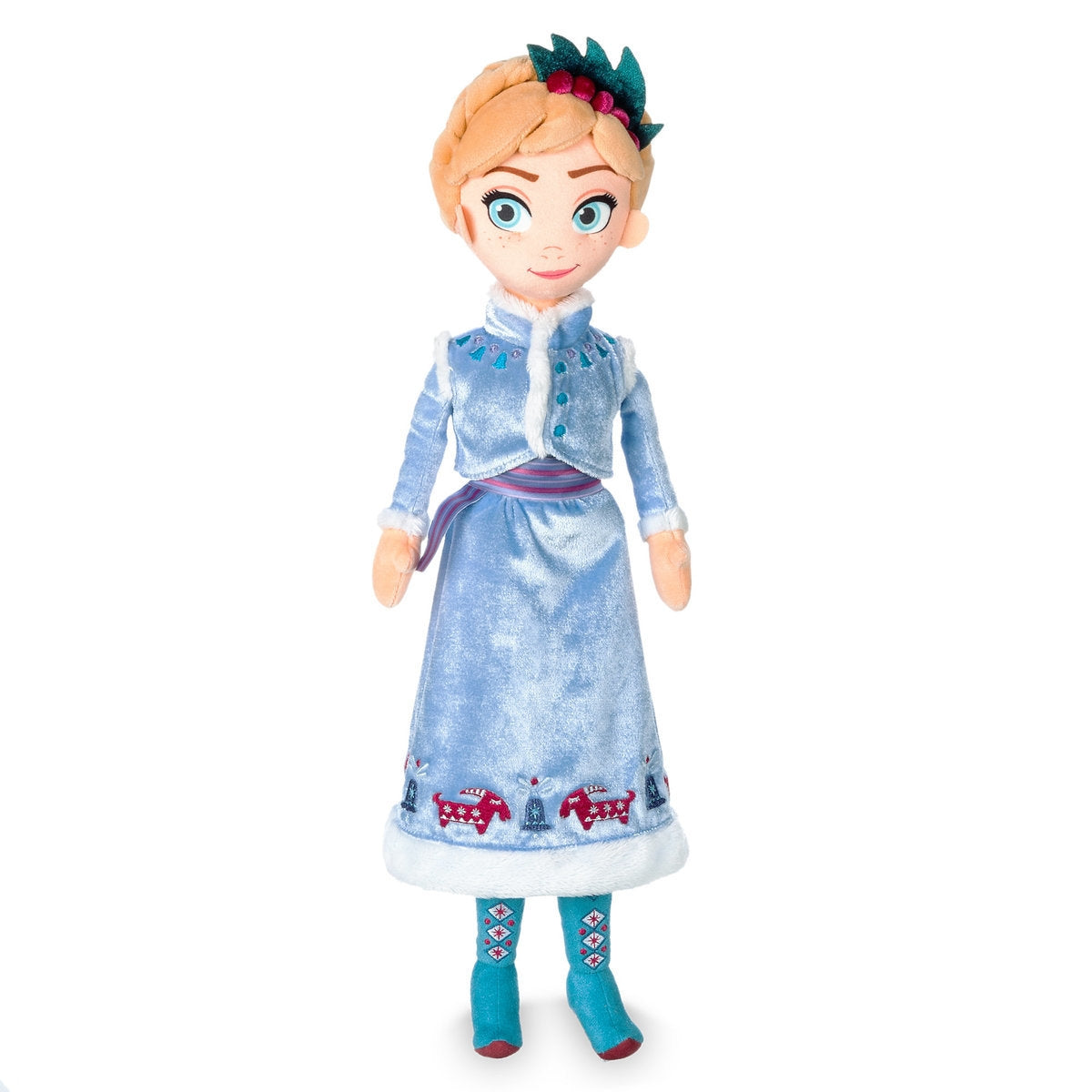 Anna Plush Doll - Olafs Frozen Adventure - Medium - 18.5 inch