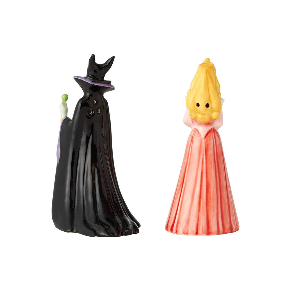 Aurora and Maleficent Salt and Pepper - Disney Ceramics