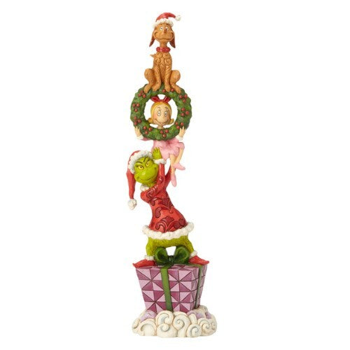 Grinch by Jim Shore - 34cm Stacked Grinch Characters