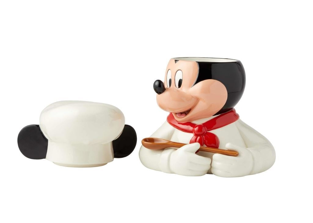 Chef Mickey Cookie Jar - Disney Ceramics