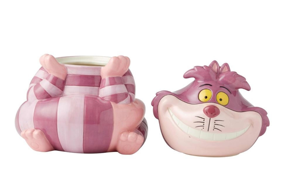 Cheshire Cat Cookie Jar - Disney Ceramics
