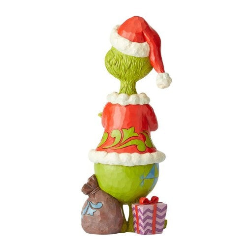 Grinch by Jim Shore - Grinch Arms Folded Statue