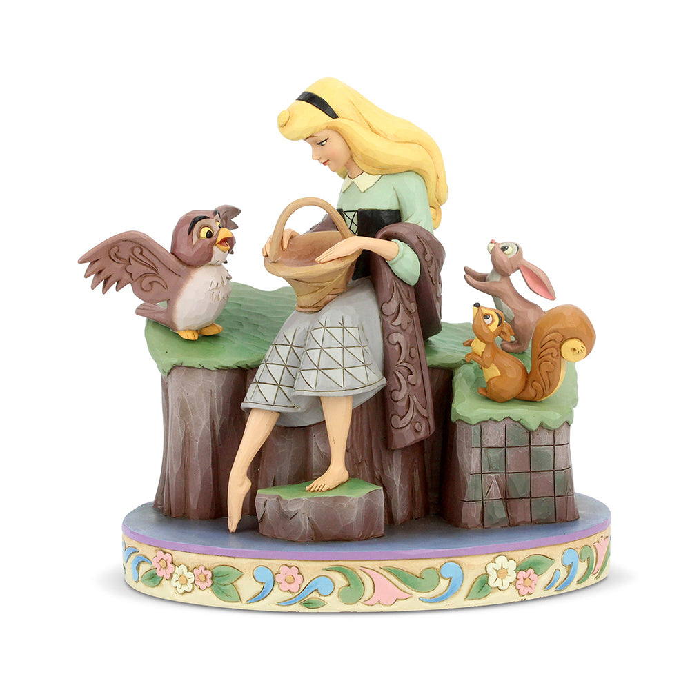Disney Traditions Princesses - Sleeping Beauty With Animals, Beauty Rare