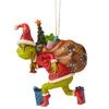 Grinch by Jim Shore - Grinch Tiptoeing Hanging Ornament