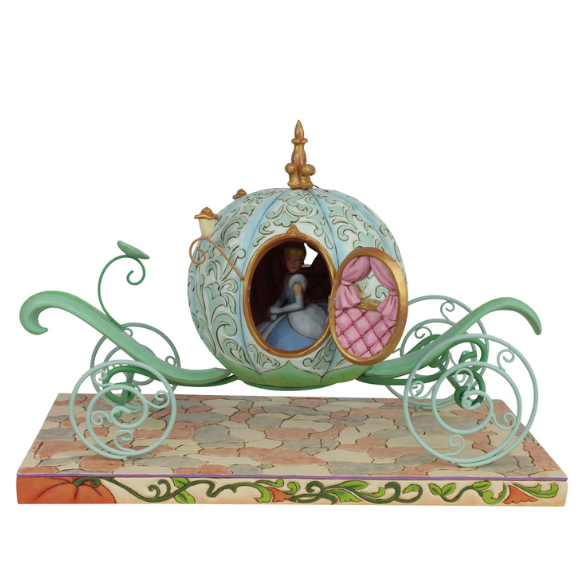 Disney Traditions - Pumpkin Coach, Enchanted Carriage - 29cm