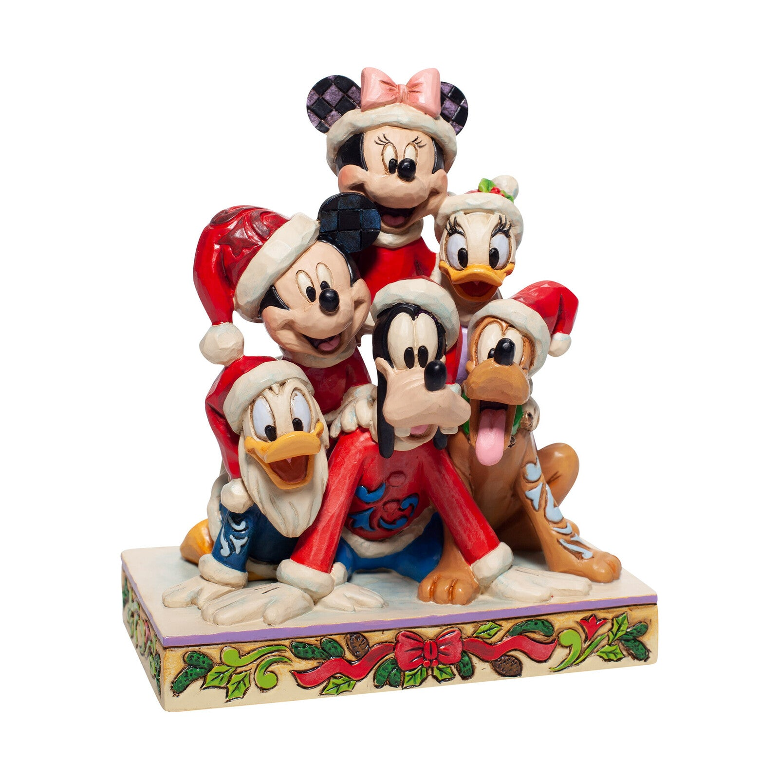 Disney Traditions - Mickey & Friends, Piled High with Holiday Cheer - 15cm