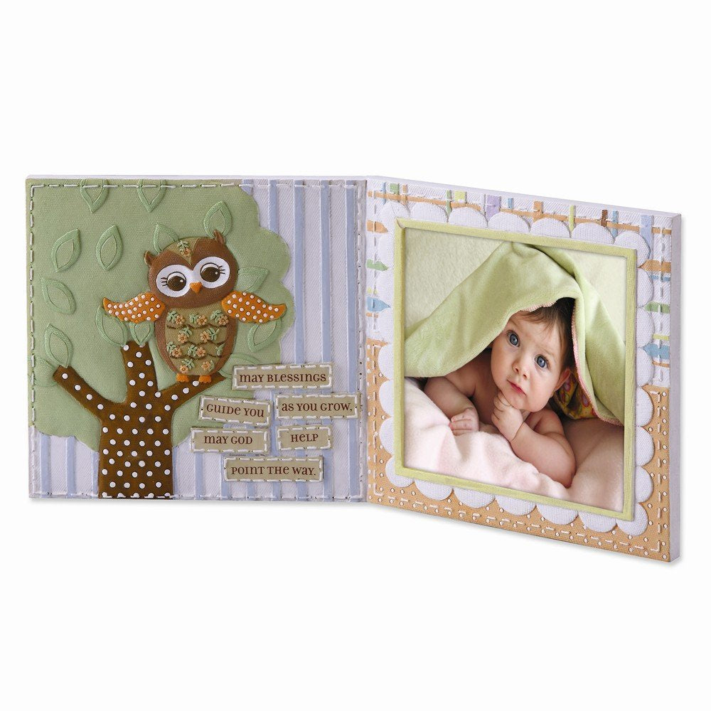 Learning to Fly Owl Photo Frame by Roman