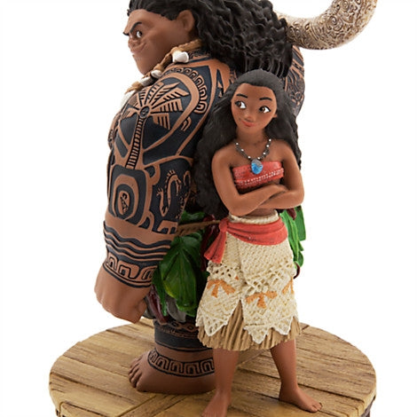 Maui and Moana Limited Edition Figurine