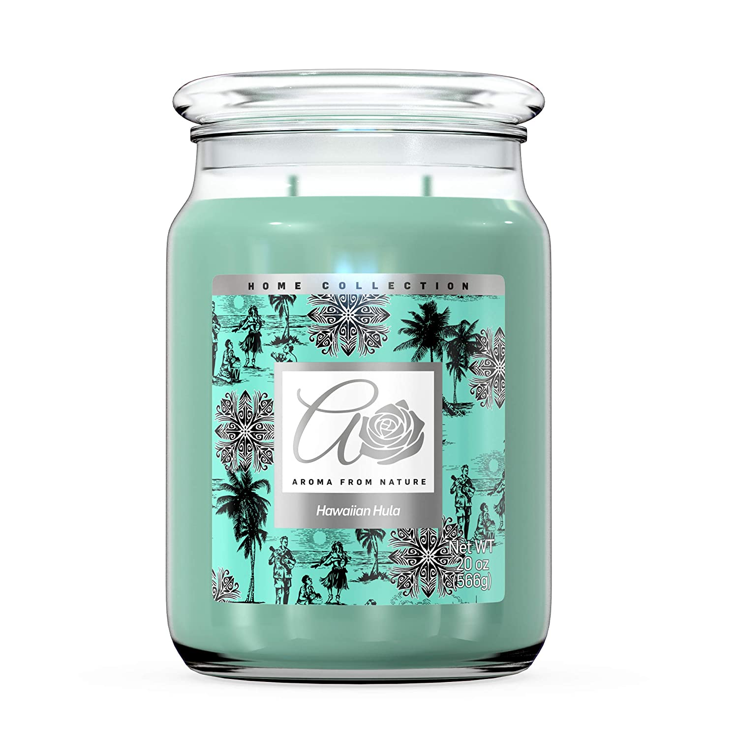 Aroma From Nature 2 Wick Jar Candle - Hawaiian Hula