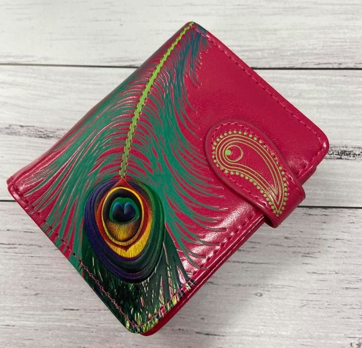 Shagwear Peacock Feather Wallet