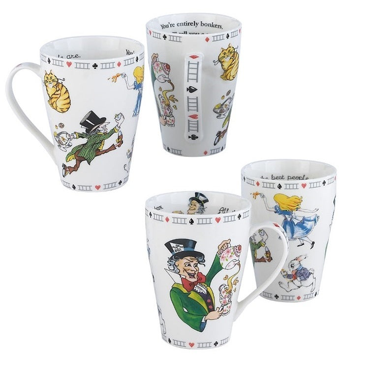 Cardew Design - Alice Mad Hatter Single Mug