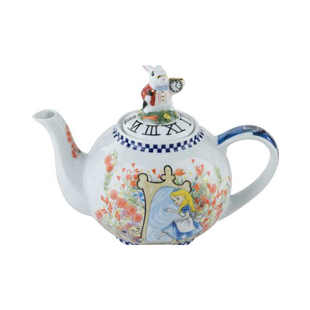 Teapot 2 Cup Alice Through The Looking Glass