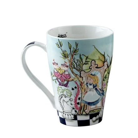 Looking Glass 15oz Mug Alice In Wonderland