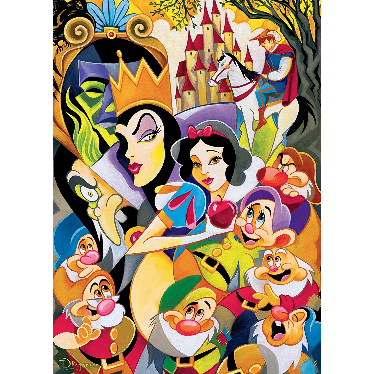 Disney Fine Art - Enchantment of Snow White Puzzle - 1000 Pieces