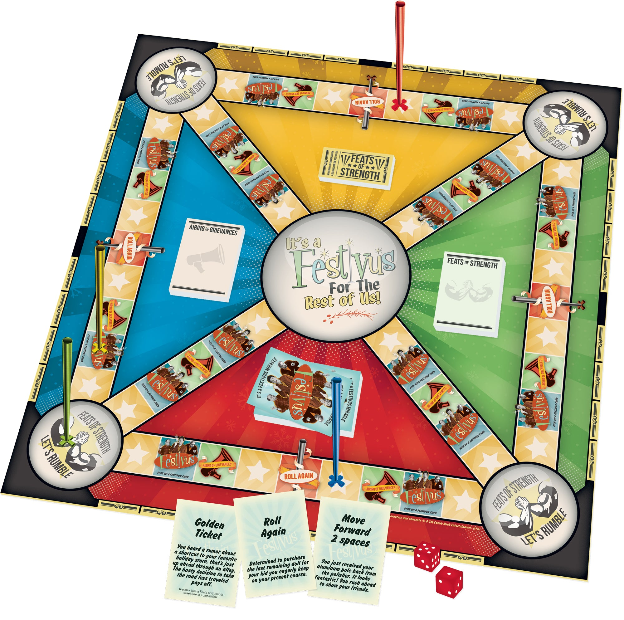 Seinfield Festivus Board Game