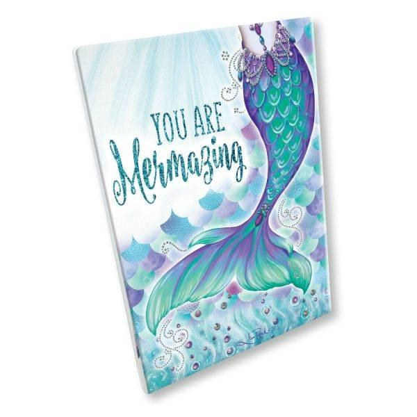 MERMAZING Mermaid Plaque