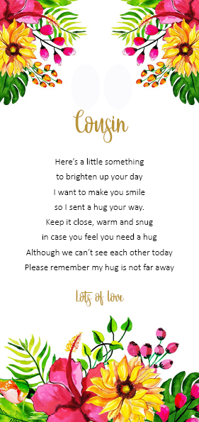 Cousin - little pocket hug