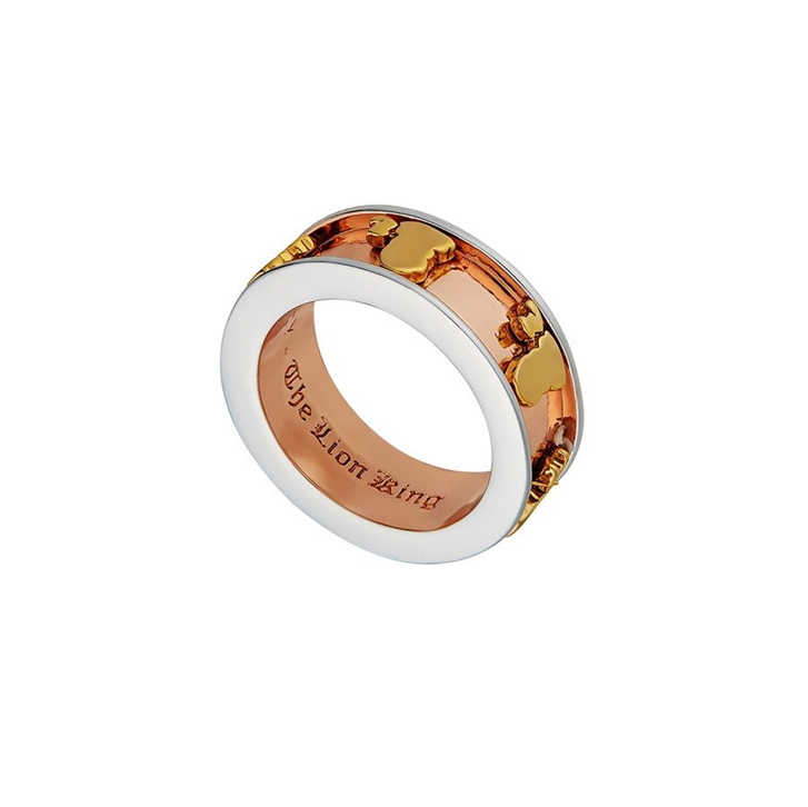 Disney The Lion King Simba & Mufasa Ring - size 6