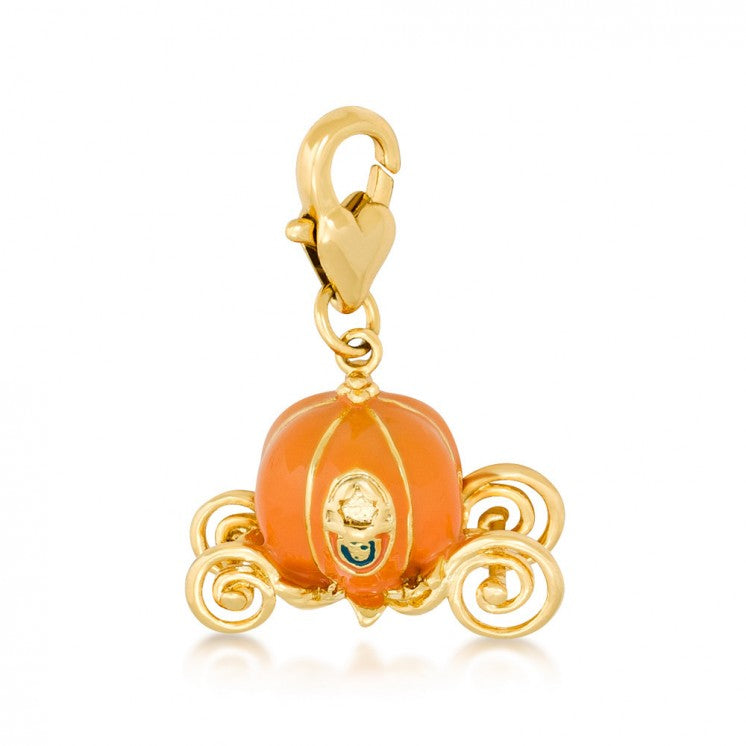 Cinderella Pumpkin Carriage Charm