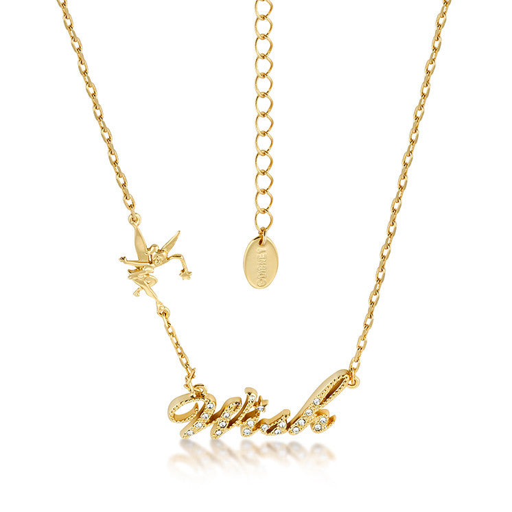 Tisney Tinker Bell Wish Necklace