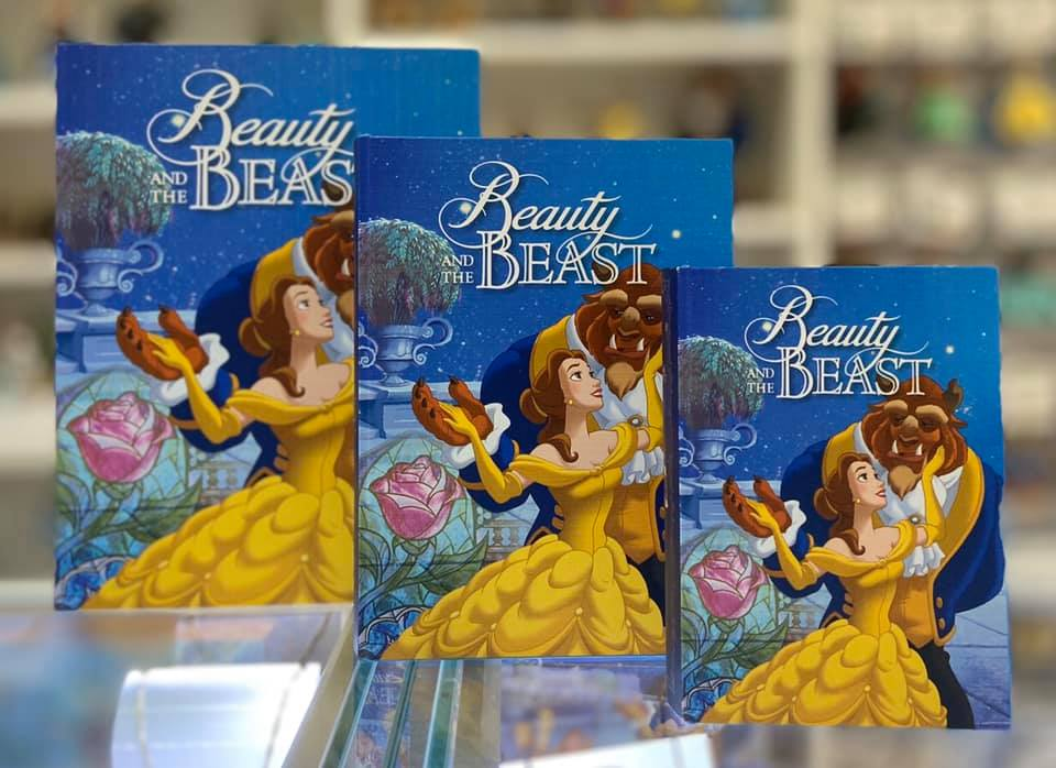 Beauty & The Beast Book Box - Small 18x13x4.5cm