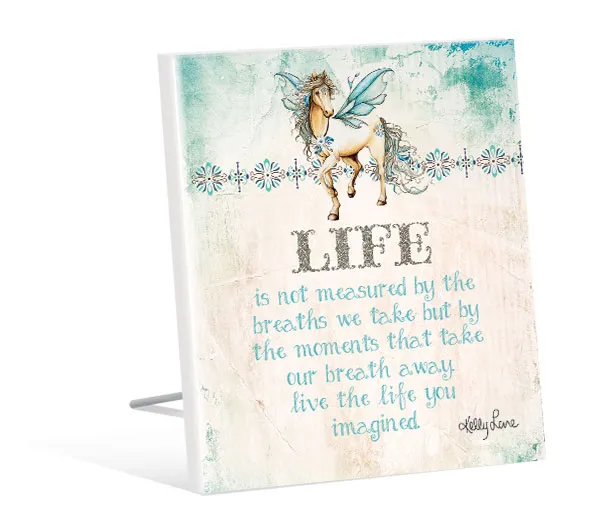 Sentiment Plaque Pegasus Life