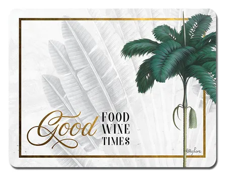 Set of 6 Placemats - Good Food Wine Times