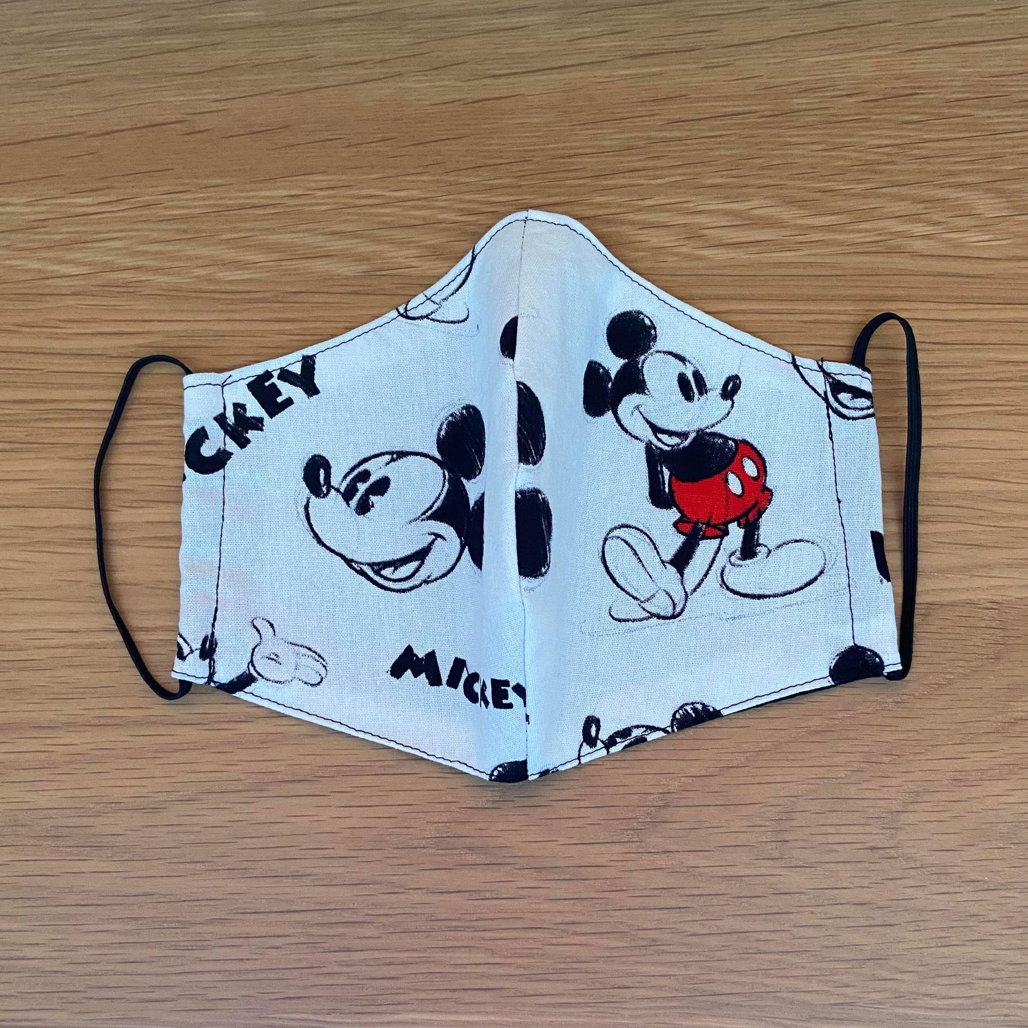 Mickey Mouse Sketch Face Mask