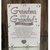 Wooden Deco - Grandma and Grandpa