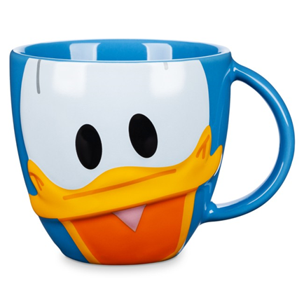Donald Duck Face Mug