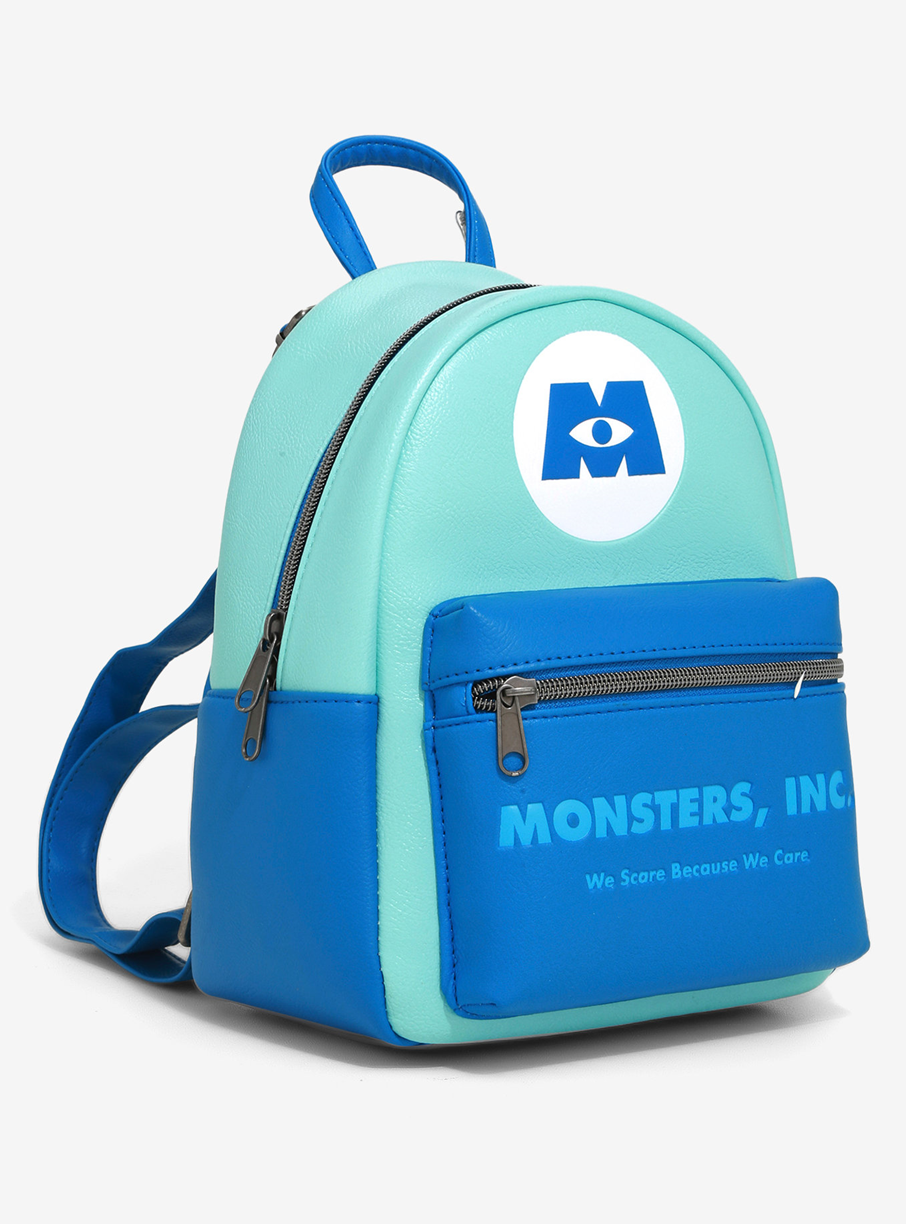 LOUNGEFLY DISNEY PIXAR MONSTERS, INC. COMPANY MINI BACKPACK