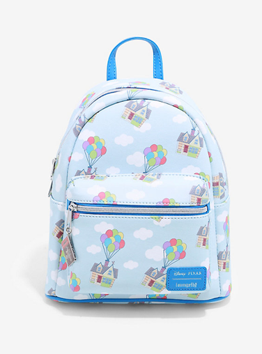 Loungefly Disney Pixar Up House Balloons Mini Backpack