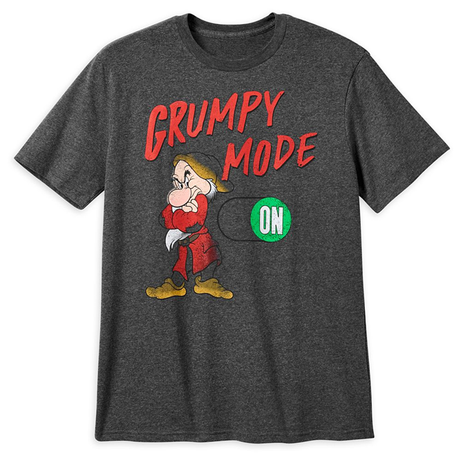 Grumpy T-Shirt for Men – Snow White and the Seven Dwarfs