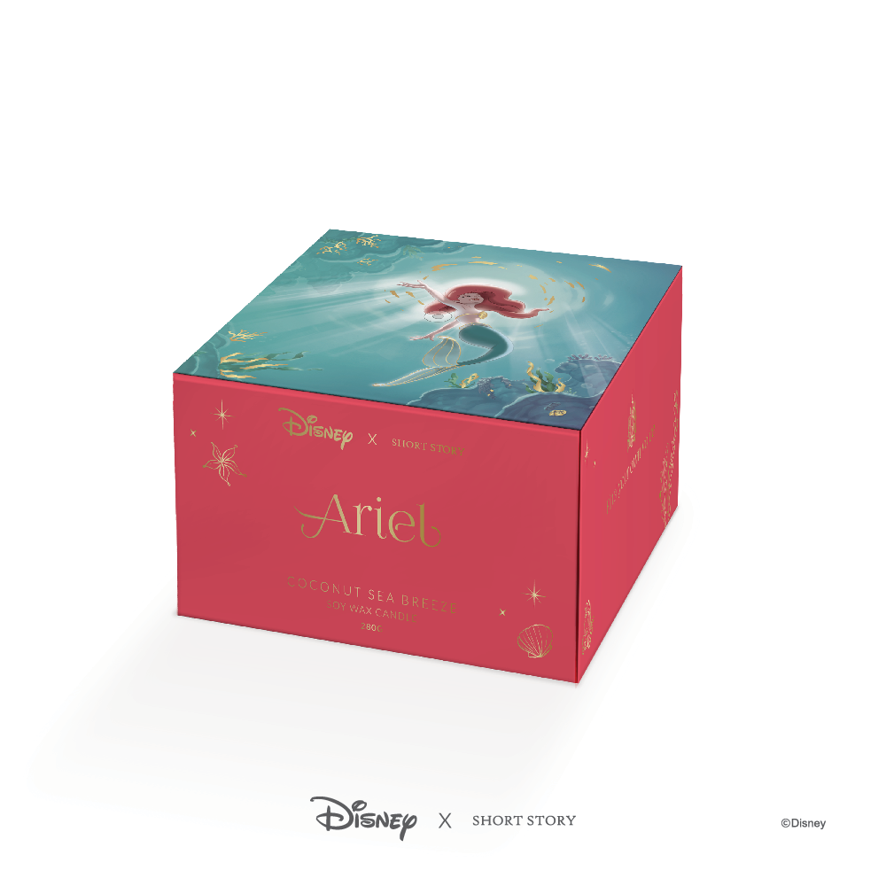 Ariel Candle - Disney Short Story