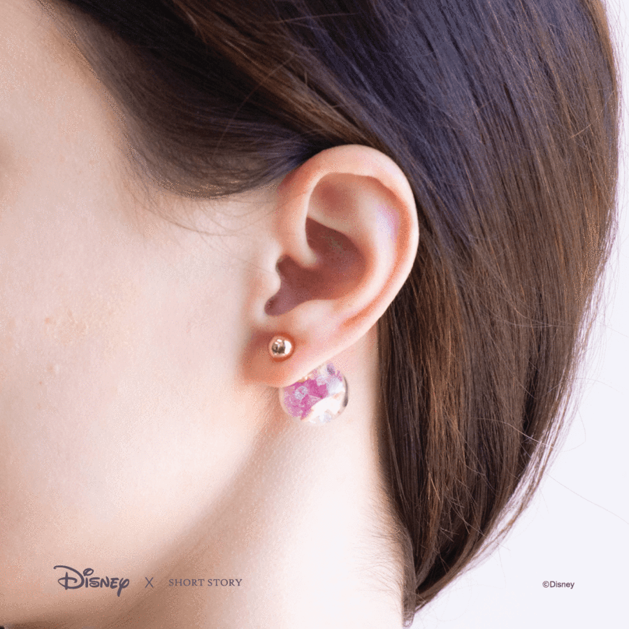 Disney Sleeping Beauty Aurora Bubble Earrings