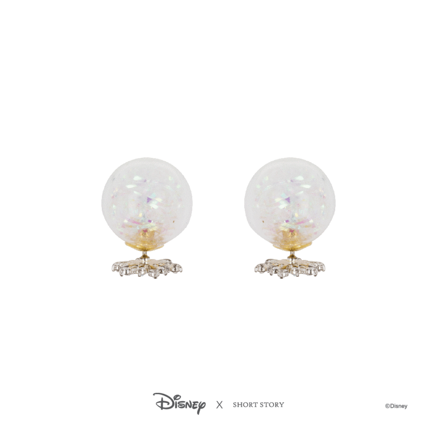 Disney Frozen Elsa Bubble Earrings