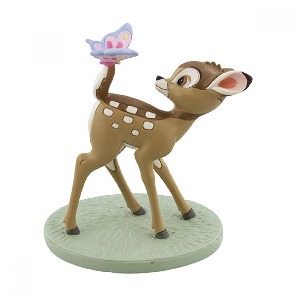 DISNEY MAGICAL MOMENTS BAMBI: FIGURINE BAMBI AND BUTTERFLY 'DREAMS & WISHES'