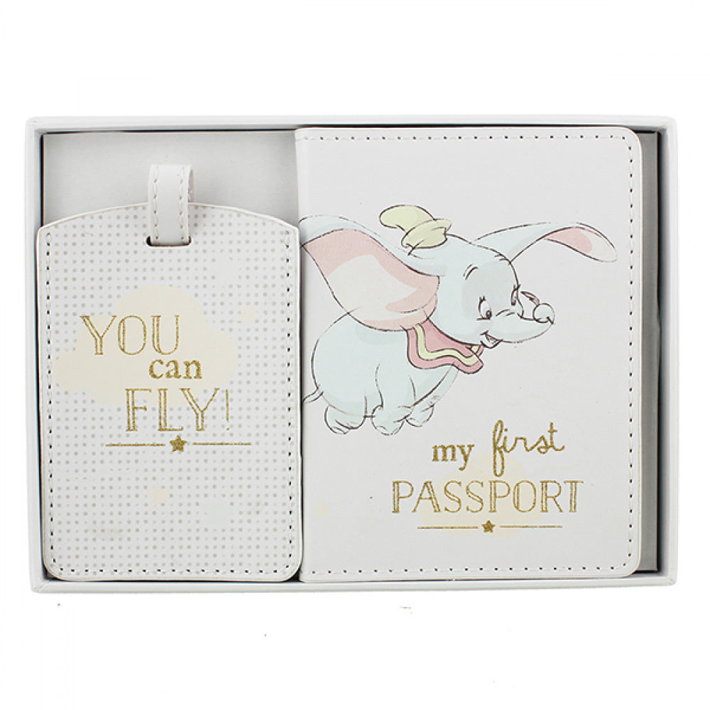 Disney Magical Beginnings – Dumbo Passport and Luggage Tag