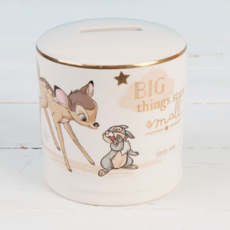DISNEY MAGICAL BEGINNINGS BAMBI - CERAMIC MONEYBANK