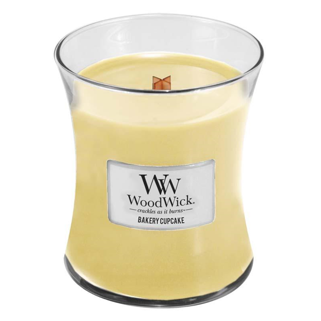 Bakery CupcakeMedium WoodWick Candle