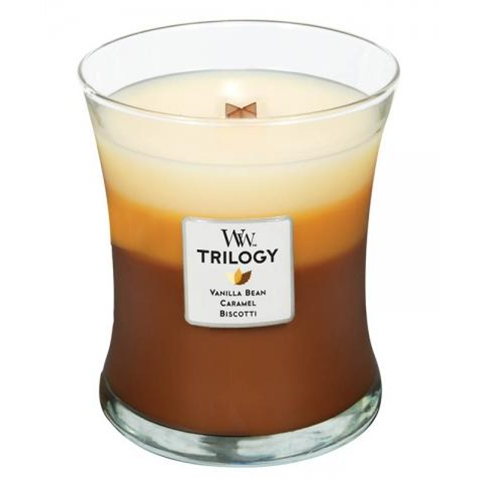 Cafe Sweets Trilogy Medium WoodWick Candle
