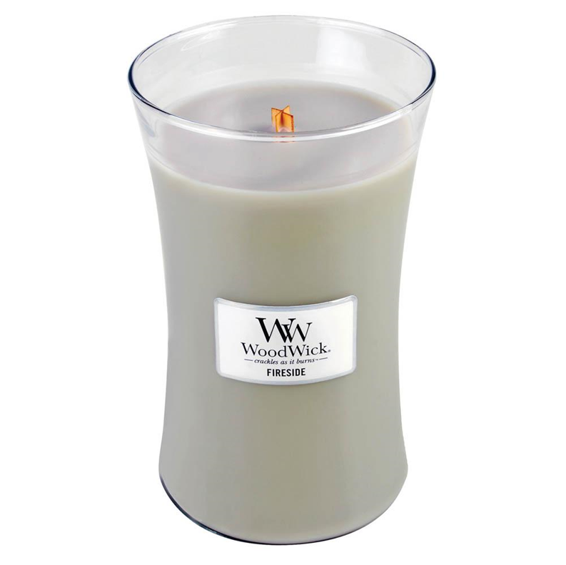 Fireside Large WoodWick Candle