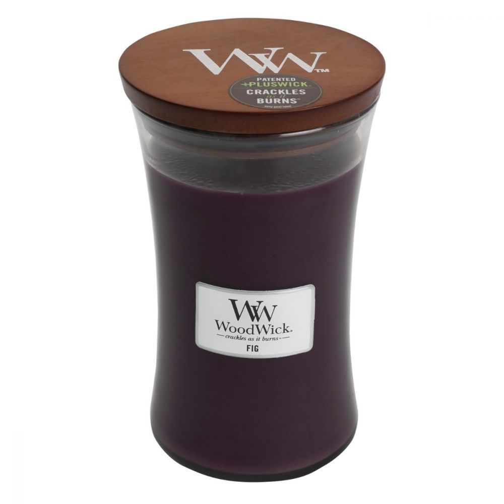 Fig Large Woodwick Candle