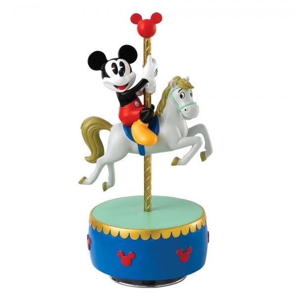 "Mickey Musical Statue, plays ""Parade of the Wooden Soldier"" - Disney Enchanting Figurine"