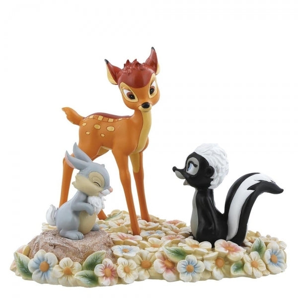 Bambi, Thumper and Flower - Disney Enchanting Figurine