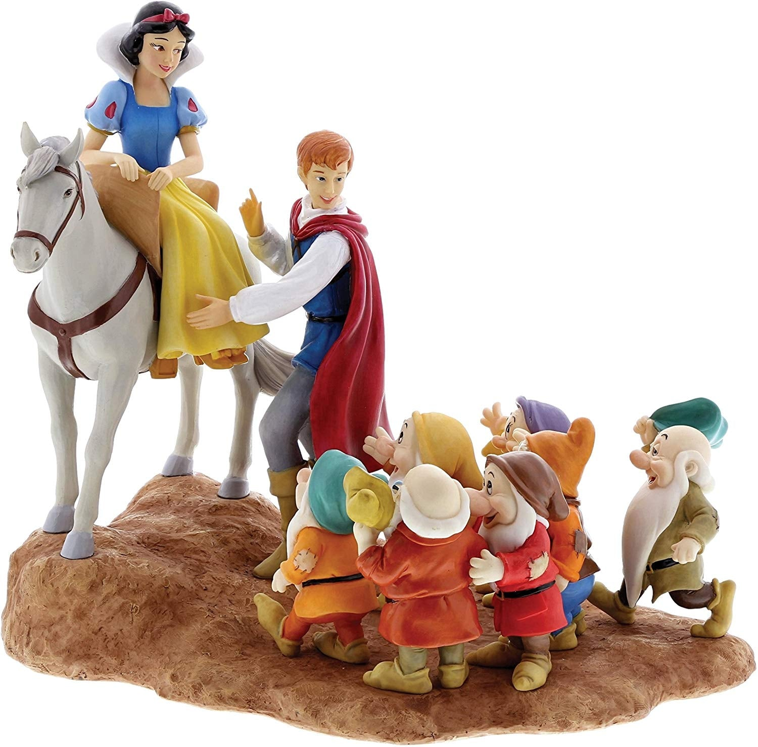 "Snow White ""A Joyful Farewell"" - Disney Enchanting Figurine"